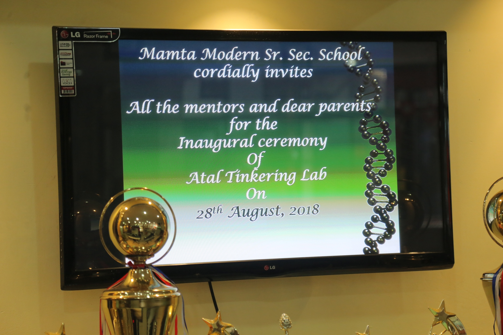 Inaugural Ceremony of Atal Tinkering Lab., NITI AAYOG (Govt. of India)