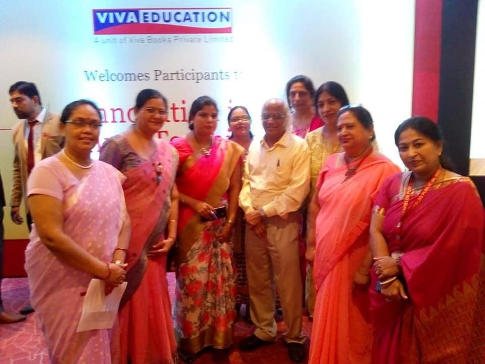 Hindi teacher attending workshop by Viva Education on Effecting Hindi Teaching…