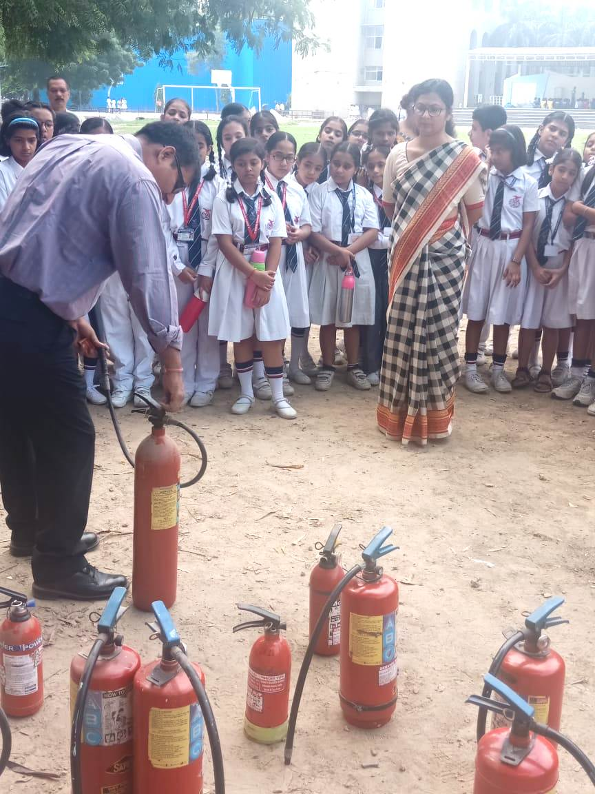workshop on 'Operating Fire Fighting Equipment'