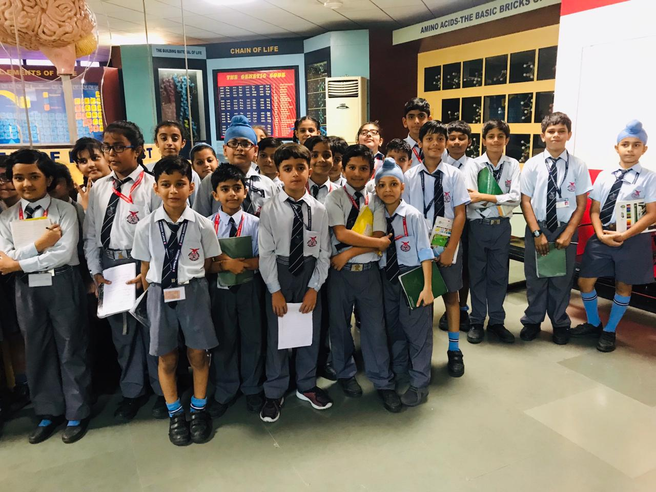 Visit to National Science Centre-class IV