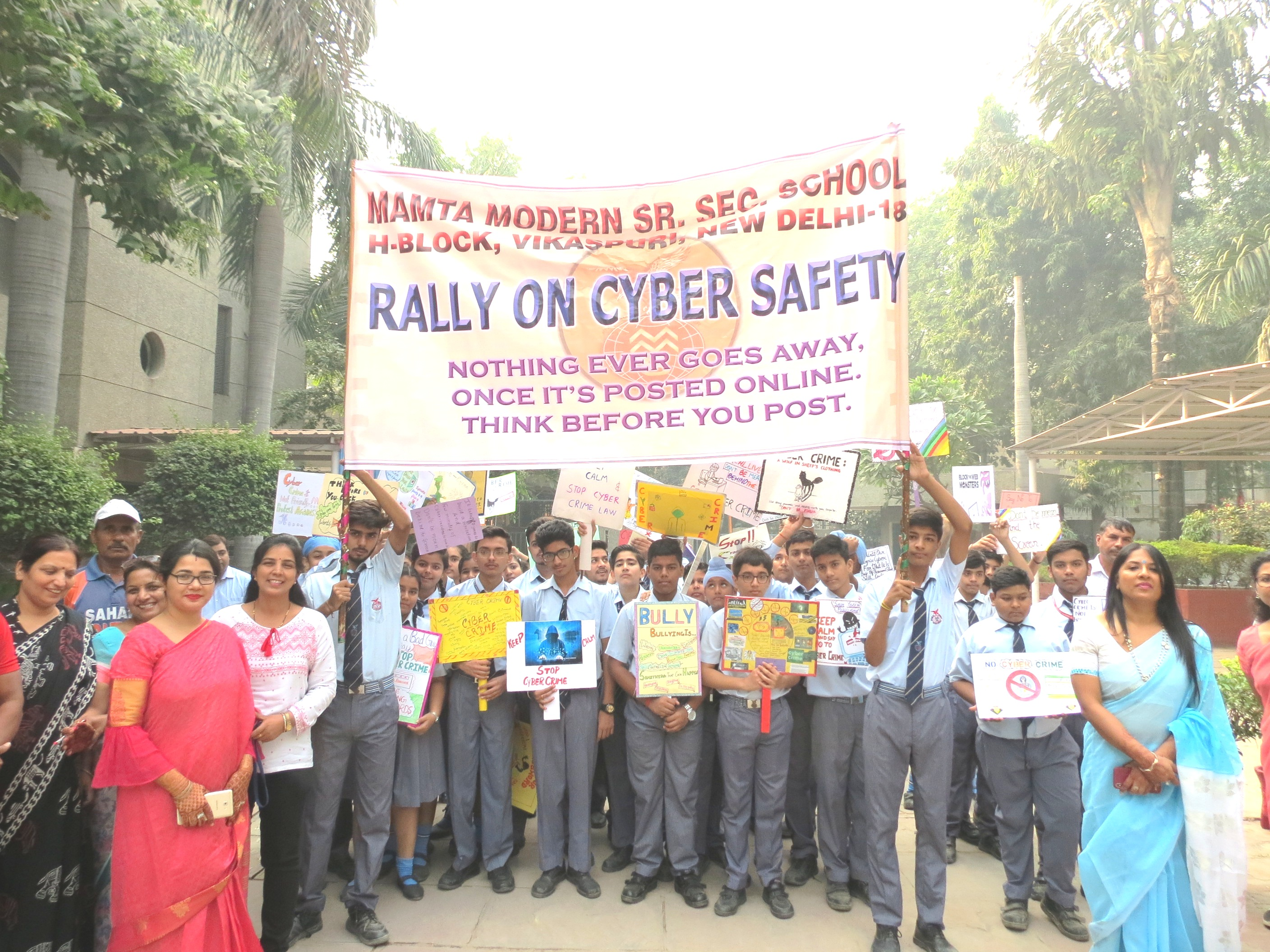 Rally on Cyber Crime