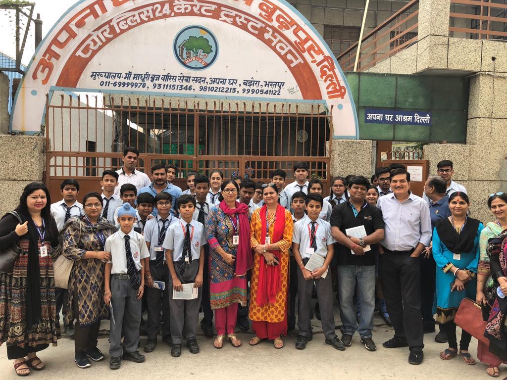 Visit to Apna Ghar