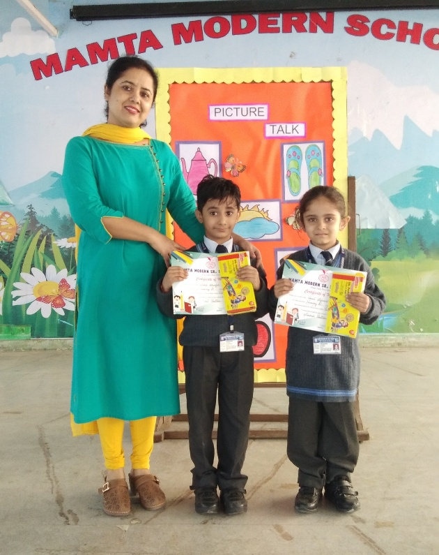 PICTURE TALK COMPETITION-CLASS NURSERY