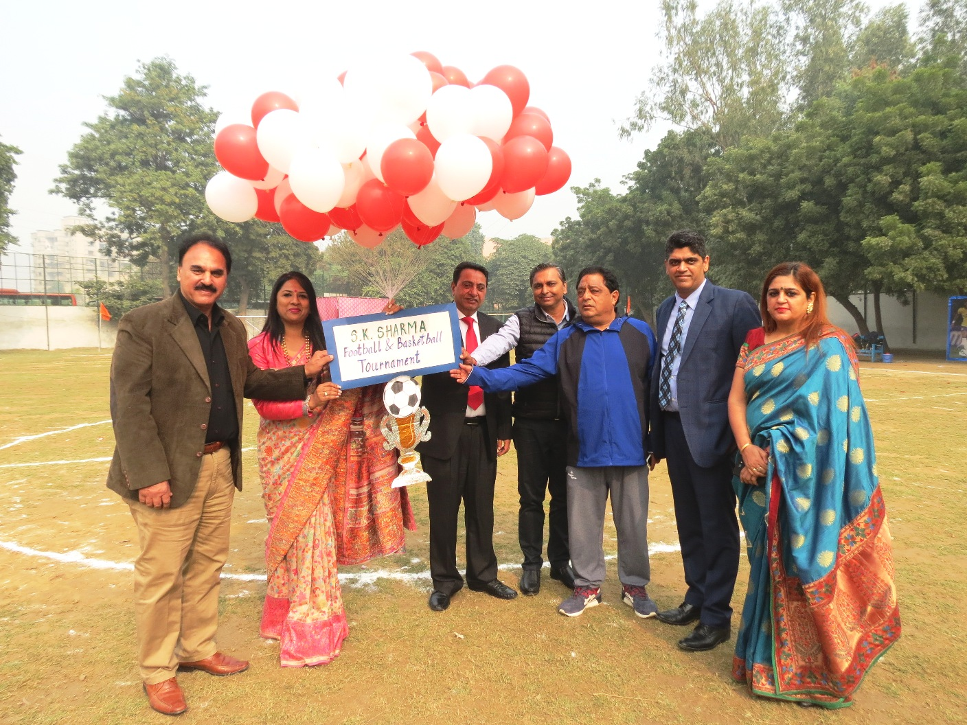 Opening Ceremony of S K Sharma Memorial Interstate Football and Basketball Tournament