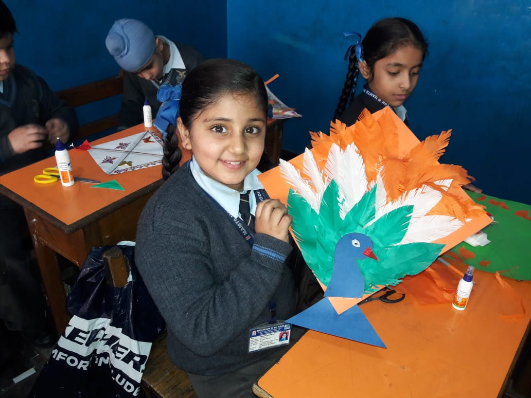 Tri-Colour Kite Making Competition-Class III