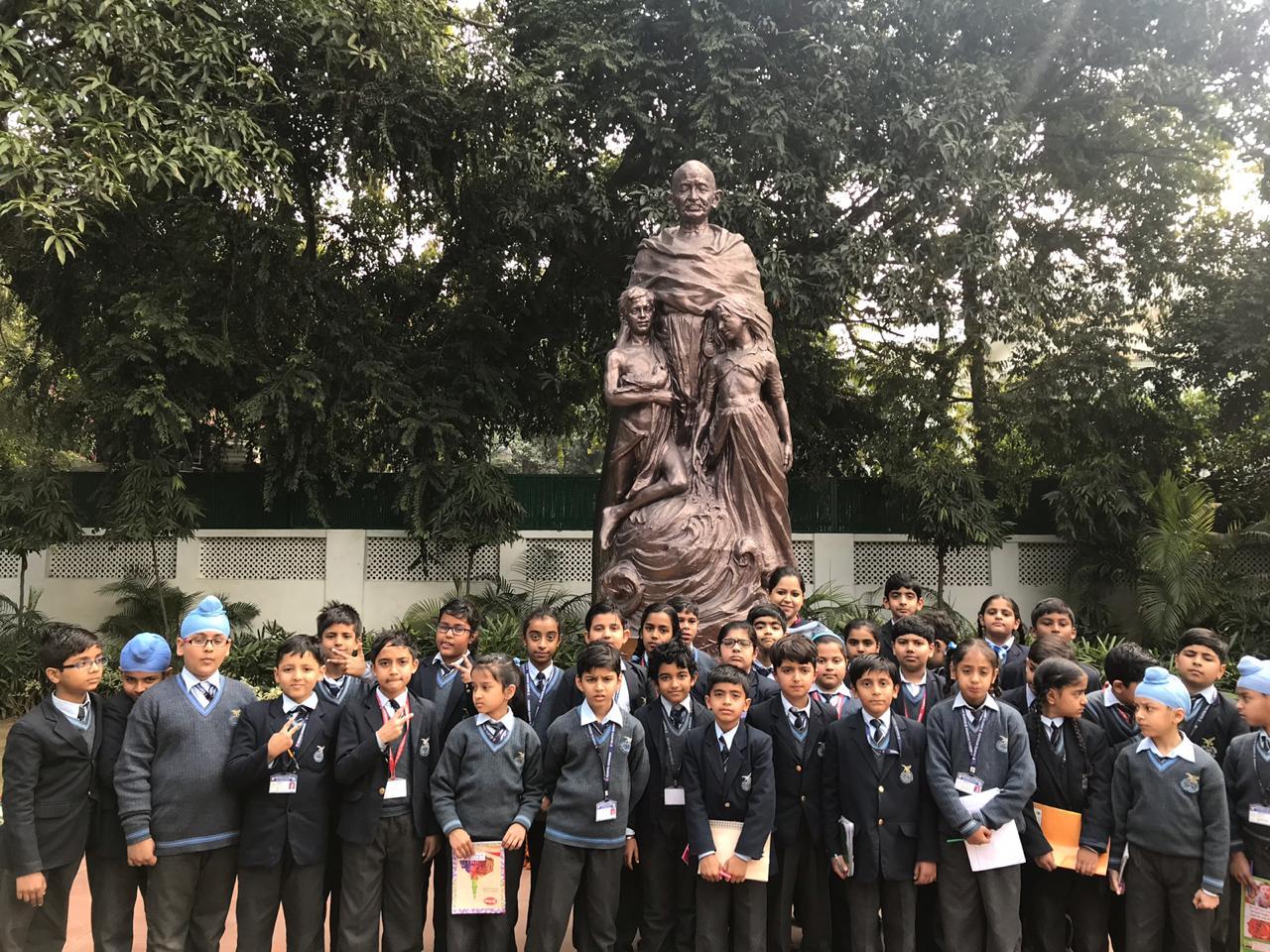 Visit to Gandhi Smriti