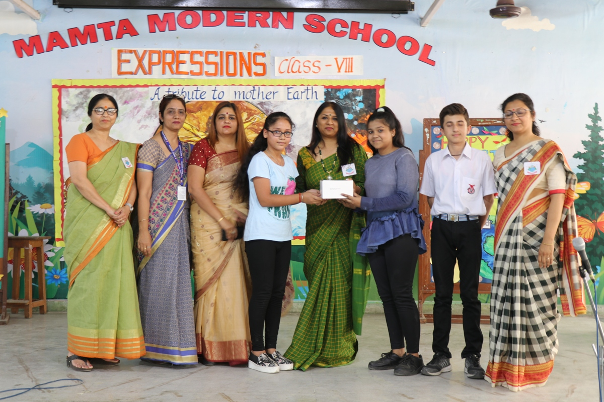 Interclass Competition 'EXPRESSIONS'- CLASS VIII