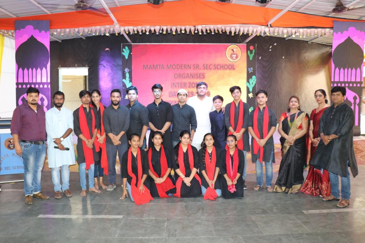 Mamta Modern School organises Interzonal Compeitition