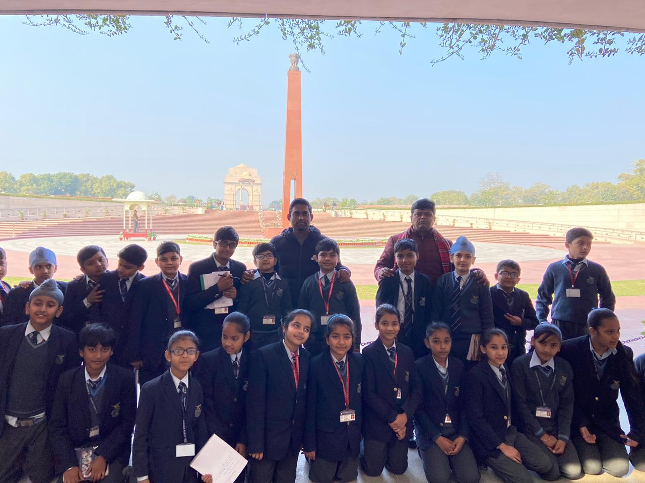 Educational visit to National War Memorial