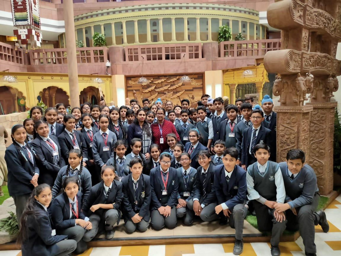 Educational visit to Parliament Museum