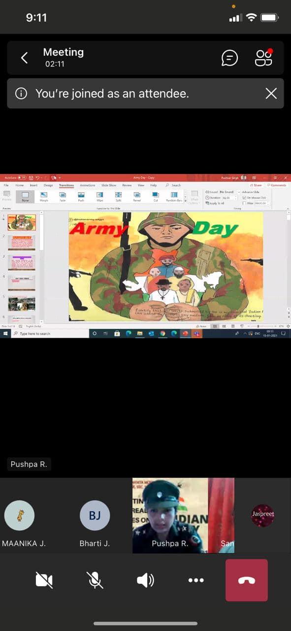73rd ARMY DAY virtually