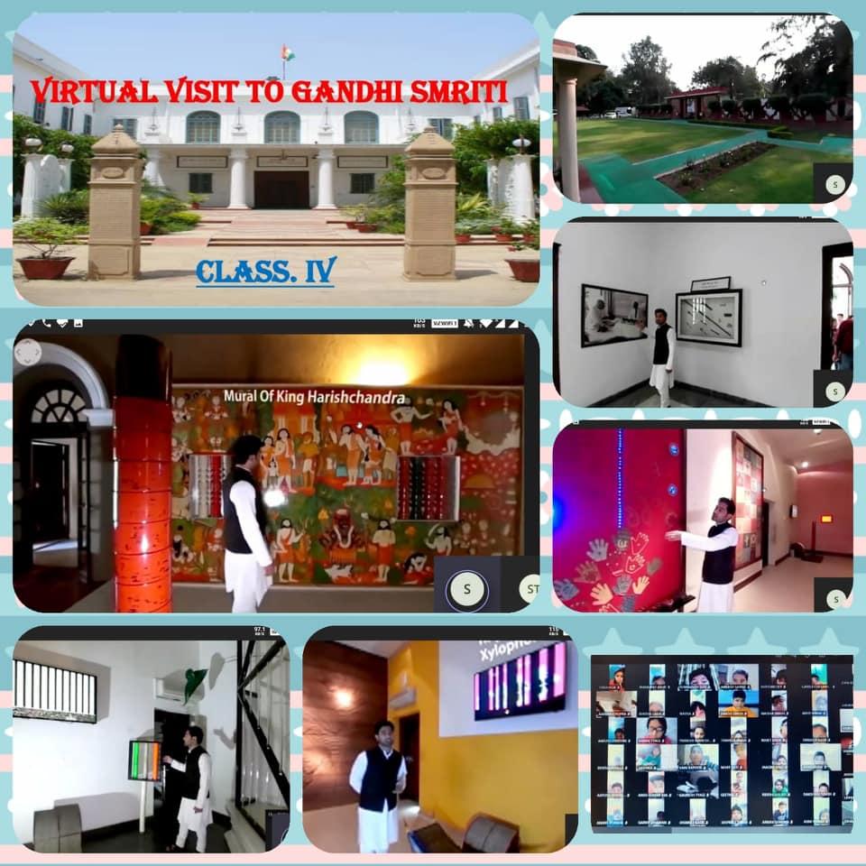 Virtual Trip to Gandhi Smriti