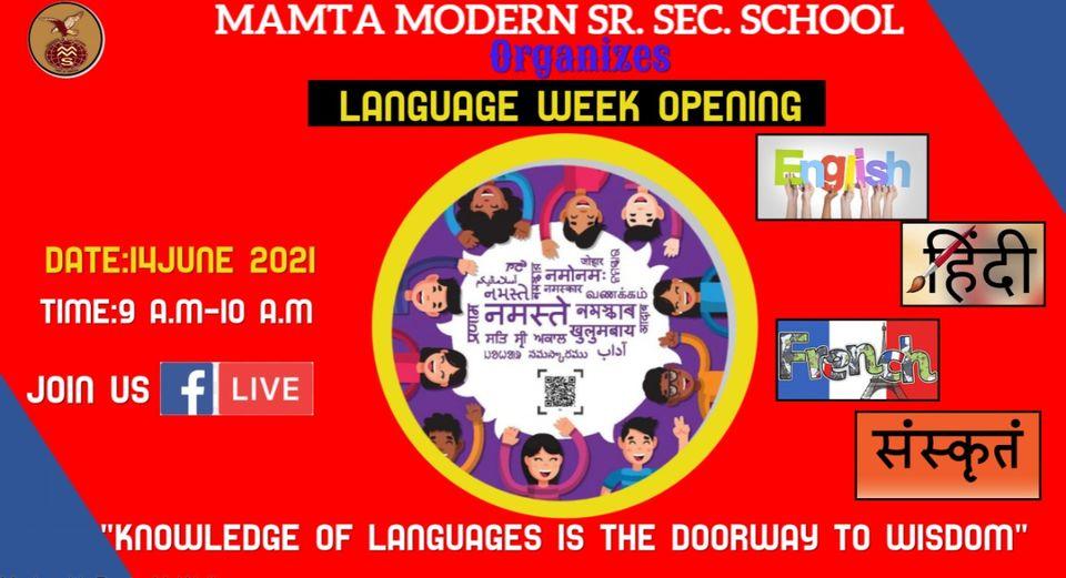 Language Week Opening Ceremony