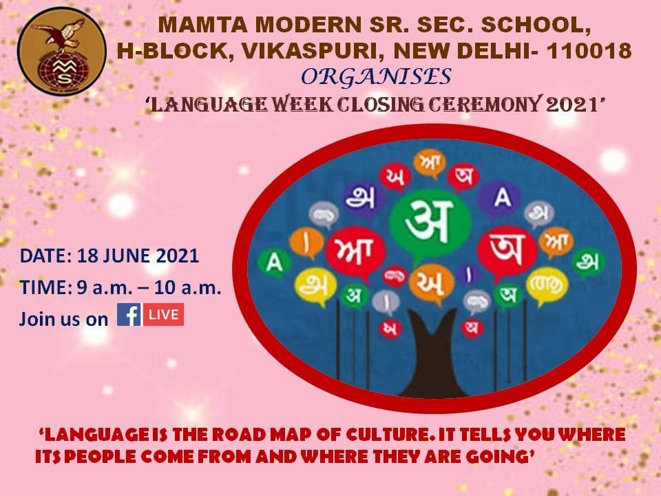 Language Week- Closing Ceremony